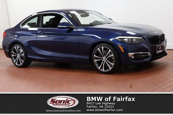 Photo Certified Used 2018 BMW 230i xDrive Luxury Line Coupe in Fairfax, VA