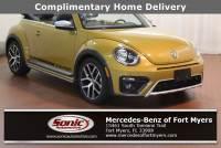 Used 2017 Volkswagen Beetle 1.8T Dune Convertible in Fort Myers