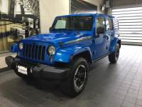 2014 Used Jeep Wrangler Unlimited 4WD 4dr Polar Edition *Ltd Avail* in Hydro Blue Pearl Coat For Sale in Moline IL | S20535A