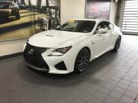 2015 Used LEXUS RC F 2dr Cpe in Ultra White For Sale in Moline IL | PV20100A