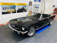 1965 Ford Mustang - CONVERTIBLE - RAVEN BLACK - C CODE 289 - SEE VIDEO -