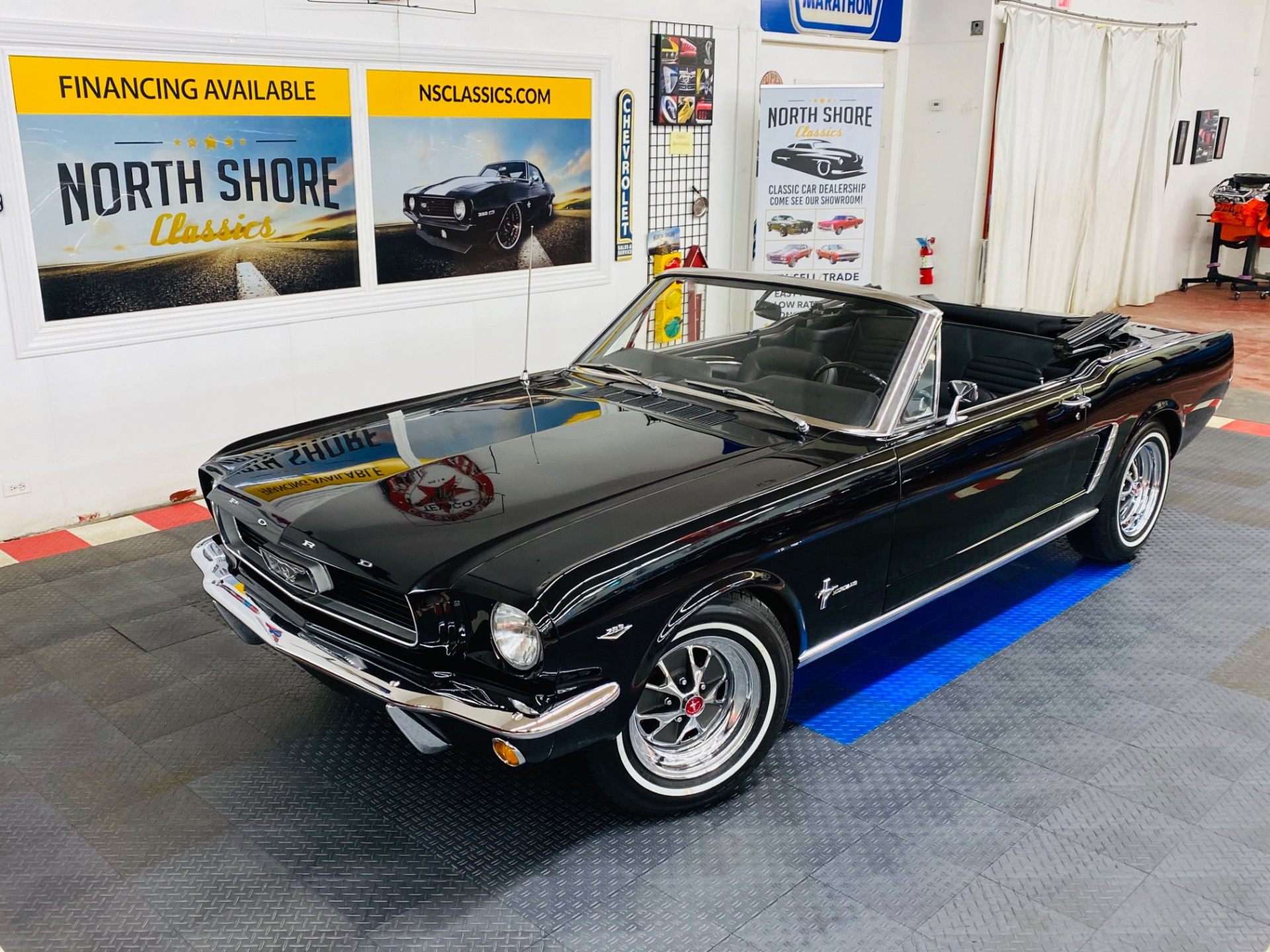 Photo 1965 Ford Mustang - CONVERTIBLE - RAVEN BLACK - C CODE 289 - SEE VIDEO -