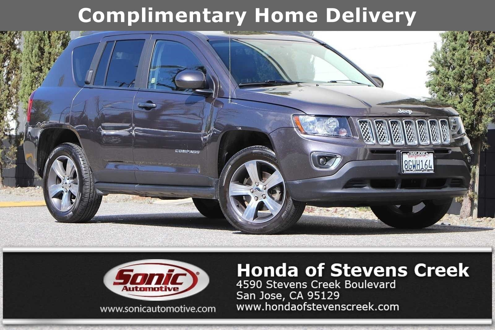 Photo Used 2016 Jeep Compass Latitude FWD For Sale in Colma CA  Stock SGD678899  San Francisco Bay Area