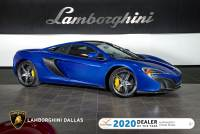 Used 2015 McLaren 650S For Sale Richardson,TX | Stock# LT1344 VIN: SBM11DAA5FW003554