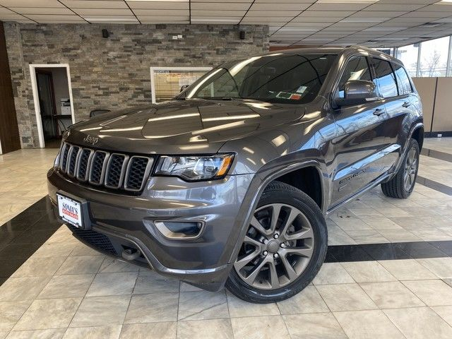 Photo 2017 Jeep Grand Cherokee Limited 75th Anniversary Edition