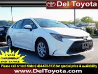 Certified Pre-Owned 2020 Toyota Corolla For Sale in Thorndale, PA | Near Malvern, Coatesville, West Chester & Downingtown, PA | VIN:JTDEPRAE7LJ070870