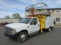 Used 2002 Ford F-550 4x2 Aerial LIft Plat-Form Truck