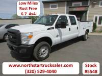 Used 2012 Ford F-350 6.7 4x4 Crew-Cab Service Utility Truck