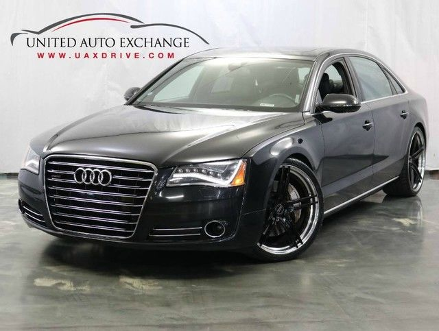 Photo 2012 Audi A8 L 4.2L V8 Engine  AWD Quattro  Sport  Navigation  Bluetooth  Sunroof  Night Vision  Rear Power and Climate Seats