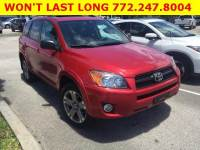 Pre-Owned 2010 Toyota RAV4 FWD 4dr 4-cyl 4-Spd AT Sport (Natl)