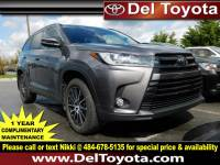 Certified Pre-Owned 2017 Toyota Highlander For Sale in Thorndale, PA | Near Malvern, Coatesville, West Chester & Downingtown, PA | VIN:5TDJZRFH6HS441247