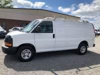 2011 Chevrolet Express 2500 Cargo Van w/ Ladder Rack & Bulkhead