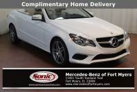 Pre-Owned 2014 Mercedes-Benz E-Class E 350 in Fort Myers
