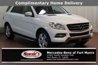 Pre-Owned 2012 Mercedes-Benz M-Class ML 350 in Fort Myers