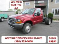 Used 2001 Ford F-450 4x4 Reg Cab 60-inch Cab Chassis