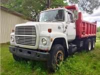 DUMP TRUCK, 1980 FORD 8000 W/REBUILT 3208 ...