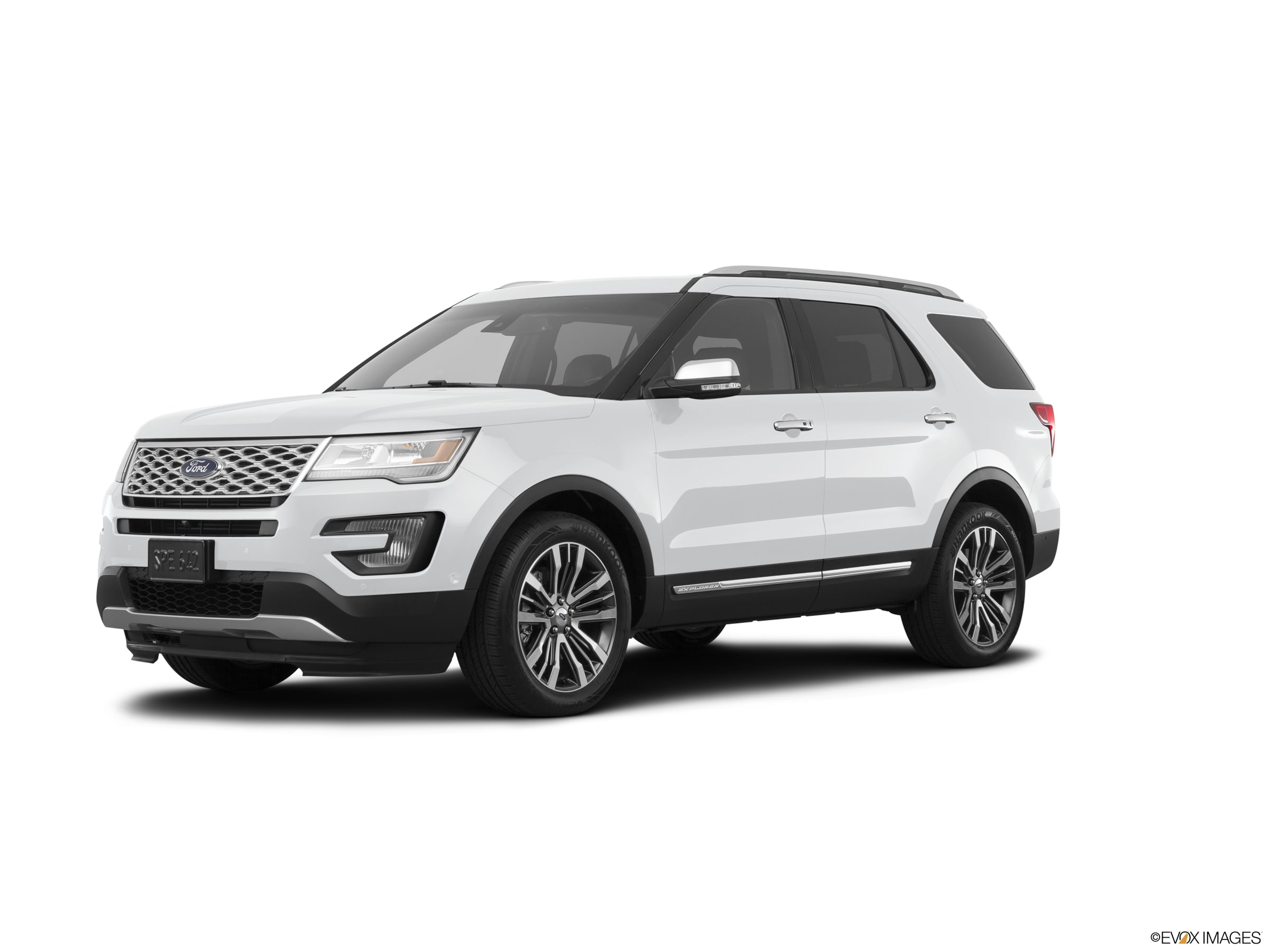 Photo Pre-Owned 2017 Ford Explorer Platinum SUV in Greenville, SC