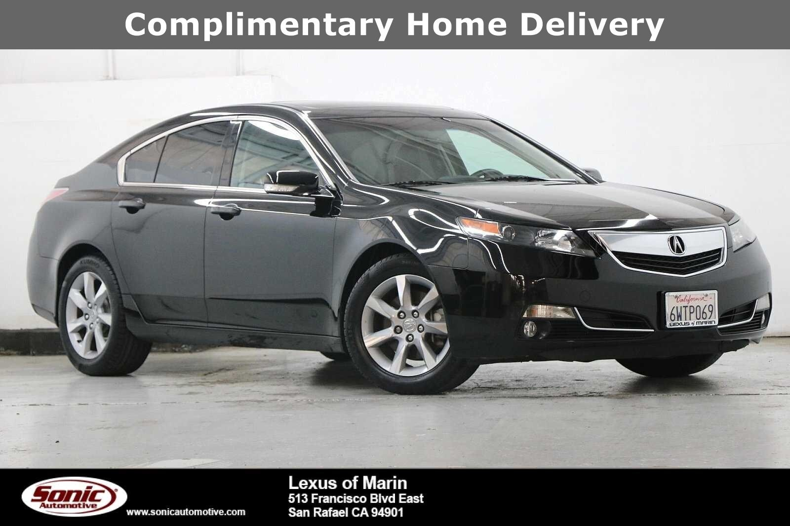 Photo Used 2012 Acura TL 3.5 wTechnology Package For Sale in Colma CA  Stock TCA032368  San Francisco Bay Area