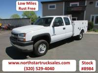 Used 2005 Chevrolet 2500HD 4x2 Ext-Cab Service Utility Truck