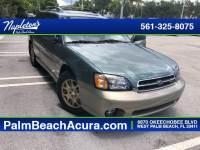 Quality 2001 Subaru Outback West Palm Beach used car sale