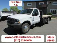 Used 2002 Ford F-550 7.3 Flatbed Truck