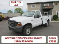 Used 2007 Ford F-350 4x4 Reg Cab Service Utility Truck