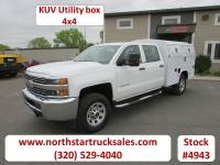 Used 2018 Chevrolet 3500HD 4x4 Crew-Cab Service Utility Truck