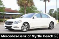 Used 2014 Mercedes-Benz S-Class Sedan For Sale in Myrtle Beach, South Carolina
