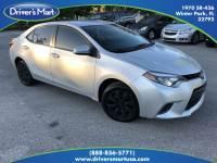 Used 2016 Toyota Corolla LE For Sale in Orlando, FL | Vin: 5YFBURHE3GP474770