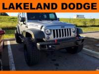 Pre-Owned 2017 Jeep Wrangler Unlimited Rubicon Hard Rock