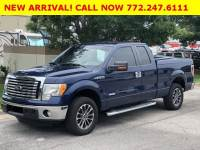 Pre-Owned 2012 Ford F-150 2WD SuperCab 6-1/2 Ft Box XLT