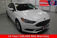 Used 2017 Ford Fusion For Sale at Duncan's Hokie Honda   VIN: 3FA6P0H71HR224404