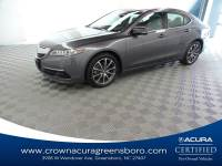 Certified 2017 Acura tlx V6 w/Technology Pkg in Greensboro NC