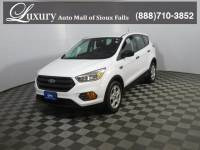 Pre-Owned 2017 Ford Escape S SUV for Sale in Sioux Falls near Brookings