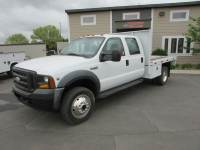 Used 2006 Ford F-450 4x4 Crew-Cab Flat-Bed