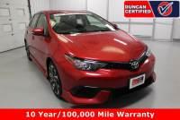 Used 2017 Toyota Corolla iM For Sale at Duncan's Hokie Honda | VIN: JTNKARJE8HJ539276