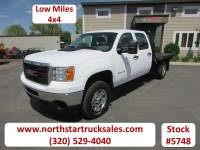 Used 2011 GMC 2500HD 4x4 Crew-Cab Flatbed Truck