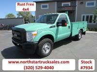 Used 2011 Ford F-350 4x4 Reg Cab Service Utility Truck