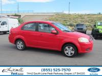 2010 Chevrolet Aveo LT w/1LT Sedan I-4 cyl