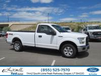 2016 Ford F-150 XL REGULAR CAB TRUCK V8 FFV ENGINE