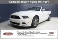Pre-Owned 2014 Ford Mustang 2dr Conv V6 Premium