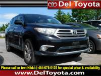 Used 2011 Toyota Highlander Limited For Sale in Thorndale, PA | Near West Chester, Malvern, Coatesville, & Downingtown, PA | VIN: 5TDDK3EH8BS056554