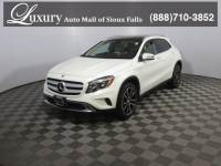 Pre-Owned 2017 Mercedes-Benz GLA 250 4MATIC SUV for Sale in Sioux Falls near Brookings