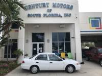 2001 Toyota Corolla CE Cloth Seats A/C Manual Windows LOW MILES