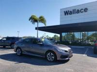 Pre-Owned 2016 Honda Civic Sedan LX CVT