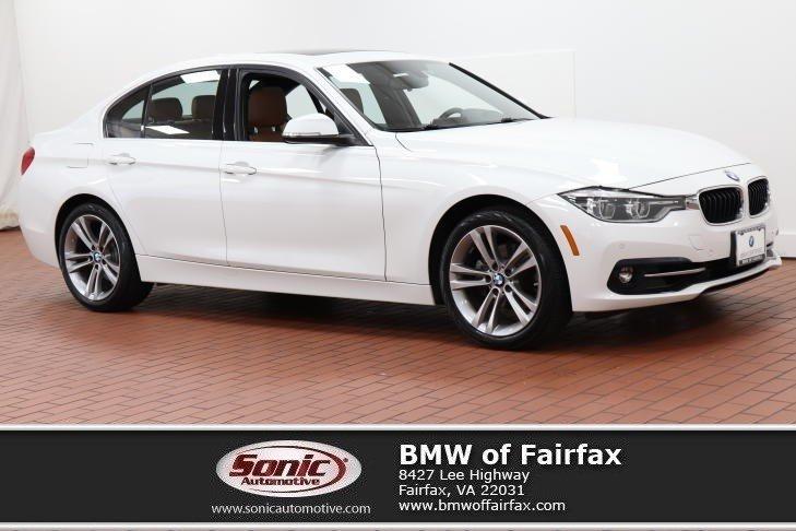 Photo Certified Used 2017 BMW 3 Series Sedan in Fairfax, VA