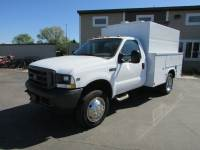 Used 2002 Ford F-450 4x2 Reg Cab Service Utility Truck