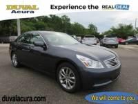 Used 2008 INFINITI G35 For Sale in Jacksonville at Duval Acura | VIN: JNKBV61F48M251803