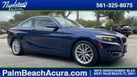 Quality 2016 BMW 228 West Palm Beach used car sale