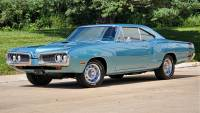 1970 Dodge Super Bee 440 Six Pack with Extras and Pistol grip 4spd Build Sheet
